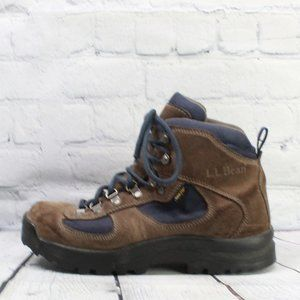 LL BEAN Goretex Lace-up Hiking Boots Size 8